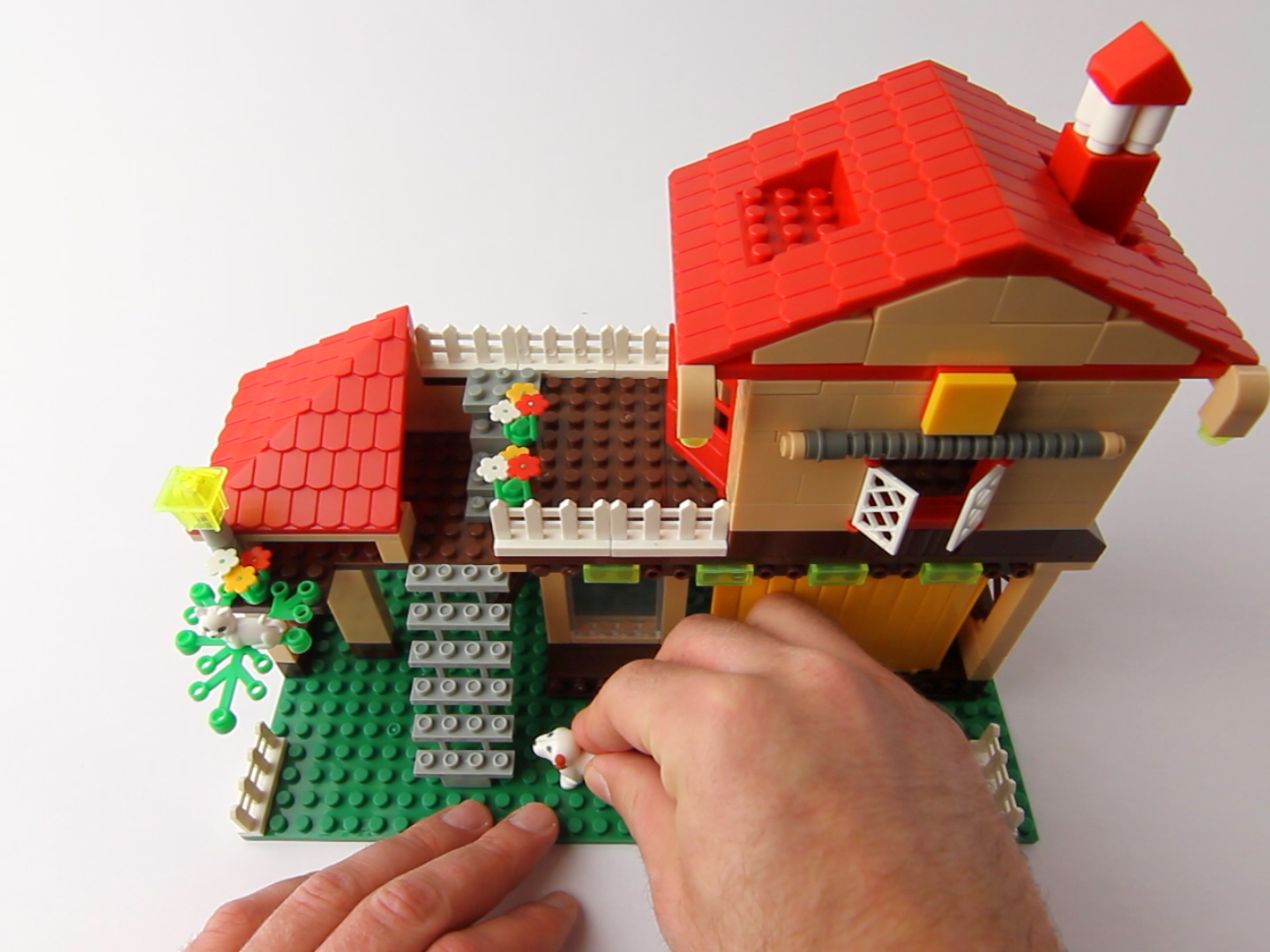 Lego winder for Step by step to build a house